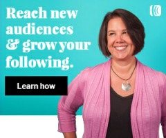 Reach new audiences and grow your following